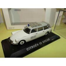 Norev Citroen DS ID 19 Break Ambulance municipale Emergency 1/43