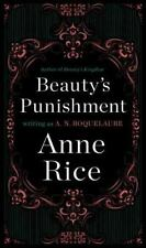 Beauty's Punishment by Anne Rice (1984, Paperback, Reissue)