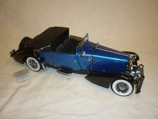 A Franklin Mint 1933 Duesenberg J Convertible coupe, no boxed no paperwork