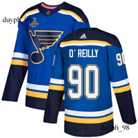 St. Louis Blues #90 Ryan O'Reilly Blue Jersey 2019 Stanley Cup Champions Final