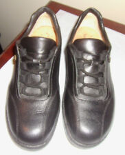 Finn Comfort  Black Leather Lace Up Oxford Walking Shoes Womens   US sz 6 UK 3.5