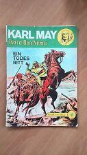 KARL MAY KARA BEN NEMSI BAND 9  EIN TODES RITT Lehning Verlag, , Rarität ORGINAL