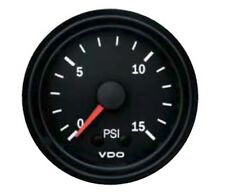 VDO 52mm 15 PSI BOOST GAUGE