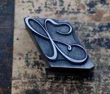 X  Initial Bleibuchstabe Stempel Siegel Buchstabenstempel Buchstabe Bleiletter