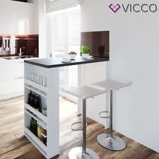 VICCO Bartisch Weiß Anthrazit Bartresen Stehtisch Tisch Tresentisch Bistrotisch