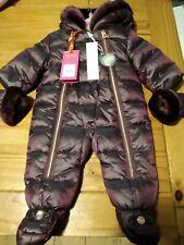 Ted Baker Girls Wine Snowsuit BNWT RRP £75