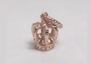 NOBLE SPLENDOR CROWN Authentic Pandora ROSE GOLD Plated Charm