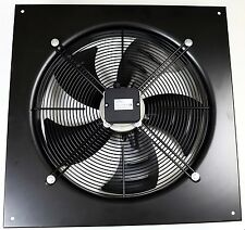 Commercial Extractor 500mm Axial Duct Plate Fan, Kitchen Extract, Suction 4 Pole