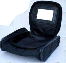 Wella Professional Cosmetic Makeup Zip Bag Black With Internal Mirror