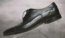 Florsheim Men's Sz 10.5 D Black Leather Cap Toe Balmoral Oxford Shoes