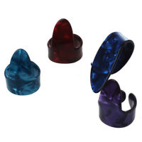 3 Finger Picks + 1 Thumb Pick Plectrums Guitar Plastic K7U7