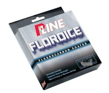 NEW P-Line Floroice Fluorocarbon Coated Mono Line Clear 100Yd 6Lb Clear