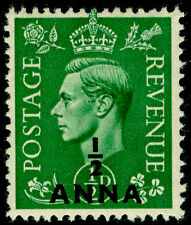 BRITISH POSTAL AGENCIES IN EA SG16, ½a on ½d pale green, NH MINT.