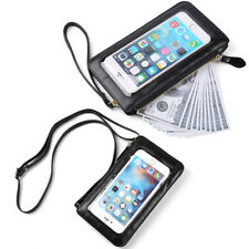 Phone Leather Zip Pouch Shoulder Crossbody Bag Purse Case For iPhone 11 Pro Max