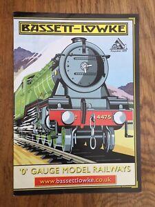 BASSETT LOWKE P1184 2009 (HORNBY) O Gauge Model Railway A4 colour brochure