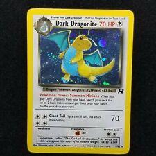 1999 HOLO DRAGONITE PSA 9 POKEMON CARD TEAM ROCKET BASE SET # 5/82 TCG WOTC 1ST