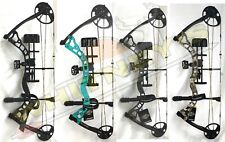 Diamond Archery Infinite 305 Bow in Teal Country Roots - Right Hand-full Pkg