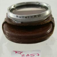 Orig Rollei Rolleiflex Sky Skylight Filter Lens Bajonett B-II Germany 2857/9