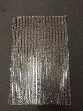 Rainbow Rhinestone Trim Sheet, Iron On Appliqué,Rhinestone Hot Press 25cm X 40