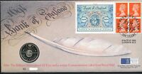 GB QEII PNC COIN COVER 1994 BANK OF ENGLAND £2 ROYAL MINT/MAIL B/UNC