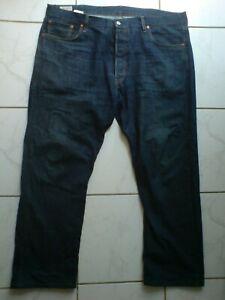 Levi 501 PREMIUM Dark Blue Denim Jeans W42 L30