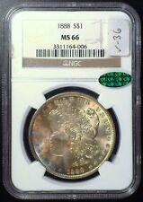 1888 NGC MS66 CAC Morgan Dollar [inv 986]