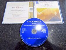 "STOCKHAUSEN ""MANTRA"" CD (PESTOVA / MEYER PIANO DUO)"