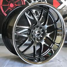 XXR 526 20 +35 Chromium Black Staggered Rims Wheels 5x114.3 Fits 07 Infiniti G35