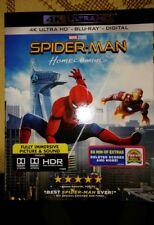 4K Spiderman:Homecoming (4K Ultra HD,BLU RAY, 2 disc)