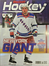 New October 2020 Beckett Hockey Card Price Guide Magazine With Alexis Lafreniere