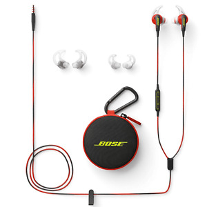 Bose SoundSport 741776-0040 In Ear Headphone For Apple Devices - Power Red