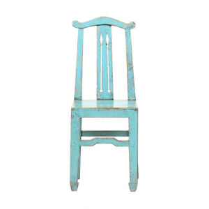 Contemporary Chinese Poplar Wood Chair