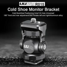 Adjustable Cold Shoe 1/4 Hole Monitor Mount Bracket For SLR Camera UUrig R015