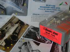 SilverLine Tameo 1:43 KIT SLK 108 Brabham BT50 F.1 BMW Practice British GP 1981