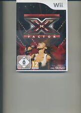 X Factor - Nintendo Wii Ubisoft Videospiel Musik
