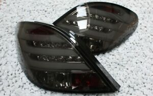 LED BAR Rear Lights Set For Peugeot 207 Light BAR Black Smoke New