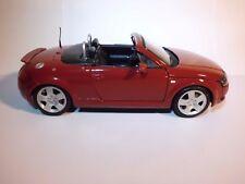 Maisto 1998 Audi TT Roadster Quattro 5V Turbo Red 1:18