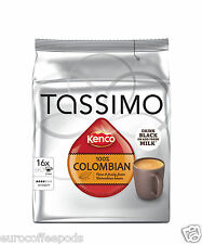 Tassimo Kenco Colombian Coffee Pack of 2, 32 T-Discs / Servings