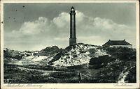 Insel Norderney Niedersachsen s/w AK 1936 gelaufen Partie am Leuchtturm Dünen