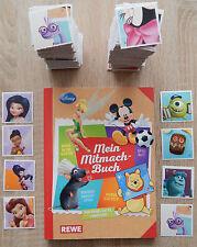 """Rewe Sticker aus """"Mein Mitmach-Buch"""" 2015  -> 15 Sticker aussuchen"""