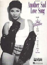Toni Braxton Another Sad Love Song   US Sheet Music
