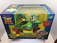 DISNEY PIXAR TOY STORY AND BEYOND R/C CAR BUZZ AND WOODY BNIB RARE VERSION