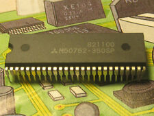 M50752-350SP CMOS Single Chip 8bit Microcomputer ROM: 4Kbytes RAM:1 DIP52   1pcs