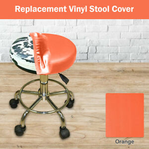 """Bar Stool Seat Cover 19"""" Round Replacement Vinyl STAPLE ON, Pub, Office, Kitchen"""
