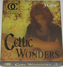 Gaelic Players CELTIC WONDERS 3-CD BOX SET Original Classics Direct Source