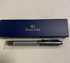 Grand Seiko Watch Official Novelty Carbon Ballpoint Pen with Box Rare Limited