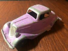 1934 Ford Roadster Coupe Hubley  #404 Die Cast Metal Toy Car