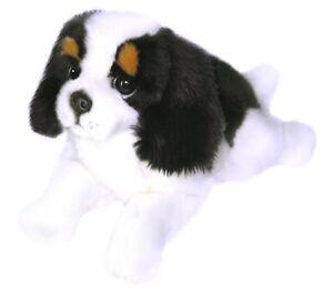 Cavalier King Charles Spaniel Plush Stuffed Toy Dog Alex by Bocchetta 28cm/11in