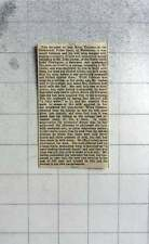 1869 John Jordan, Green Lanes, Stoke Newington, Dairyman, Defrauded By Pensioner