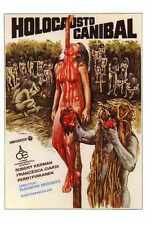 Cannibal Holocaust Poster 04 Metal Sign A4 12x8 Aluminium